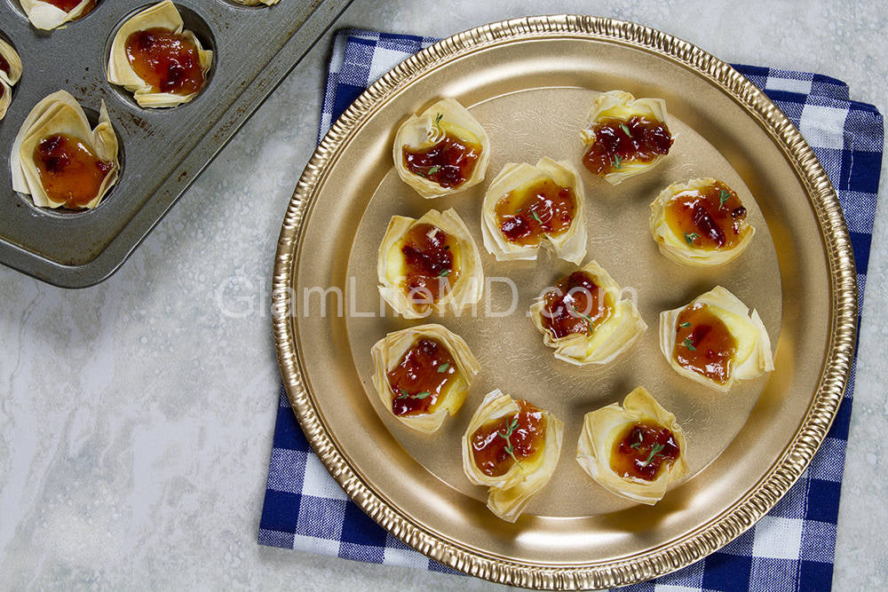 Brie and Hot Pepper Jelly Bites | Appetizers Dessert
