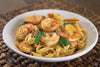 Cajun Shrimp & Red Pepper Fettuccine | Easy Healthy Lunch Recipes