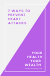 7 Ways To Prevent Heart Attacks