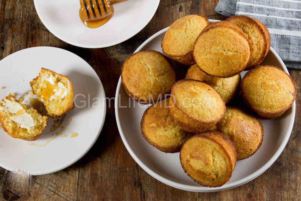 Corn Bread Muffins | Recipes For Sides Dishes