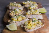 Grilled Corn Crostini | Picnic Appetizers