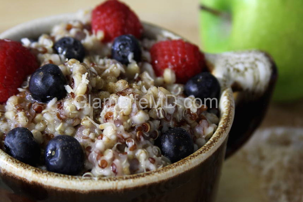 Hearty Quinoa Oatmeal | Quinoa Recipes