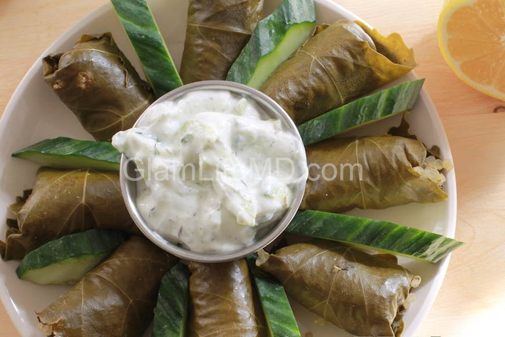 Herbed Quinoa Stuffed Grape Leaves | Recipes for appetizers
