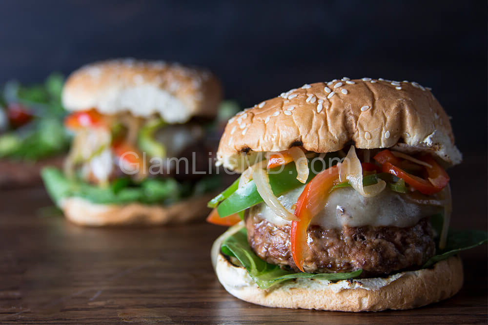 Italian Sausage Burgers | Healthy Easy Lunch Recipes