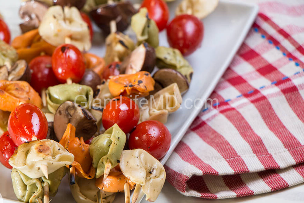 Italian Tortellini Kabobs | Recipes for appetizers