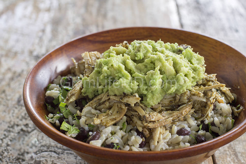 Mojo Chicken Burrito Bowl | Recipes With Chicken