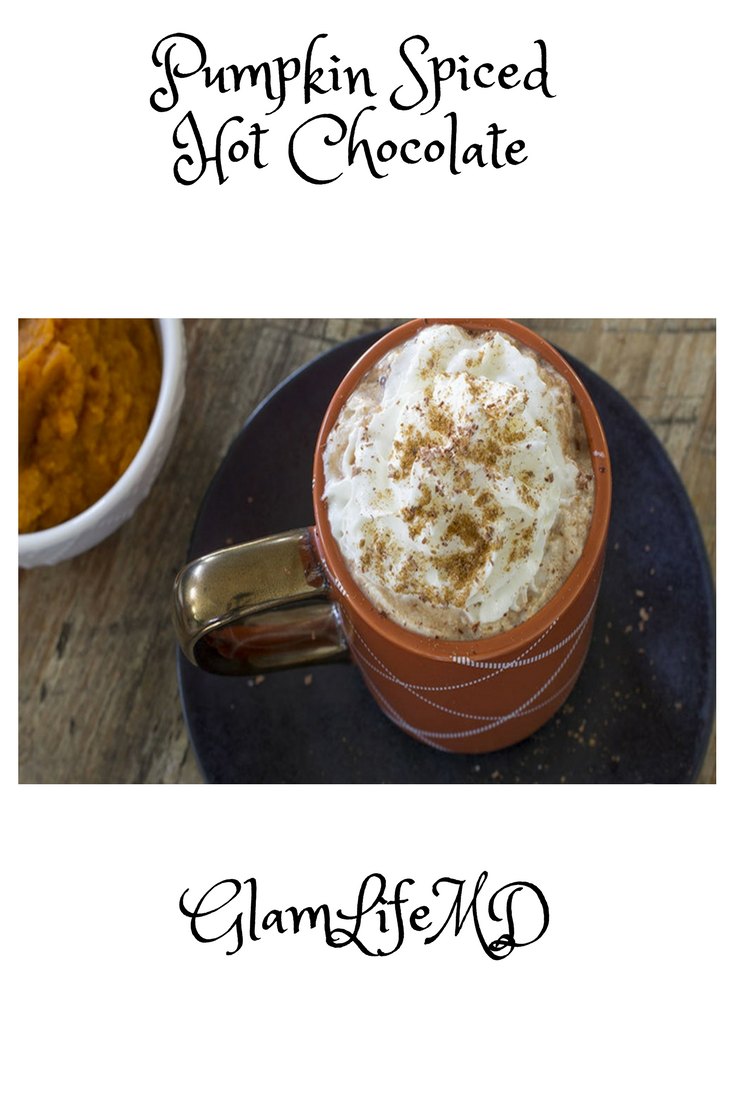 Pumpkin Spiced Hot Chocolate | Healthy Drinks Recipes