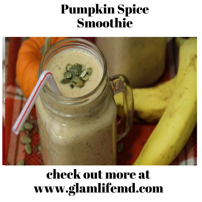 Pumpkin Spice Smoothie | Why White Smoothie Recipes