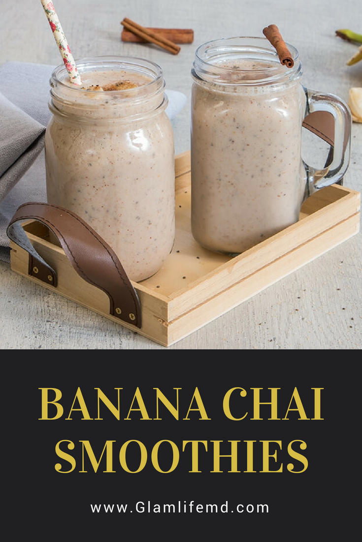 Banana Chai Smoothies | Extract Recipe