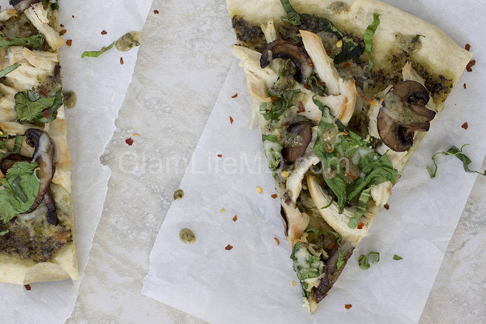 Pesto Chicken Pizza | Recipes With Chicken