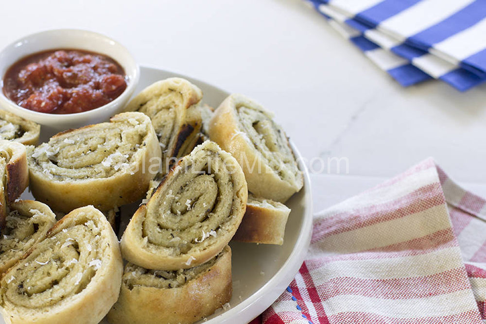 Pesto Pizza Pinwheels | Recipes Appetizers Party