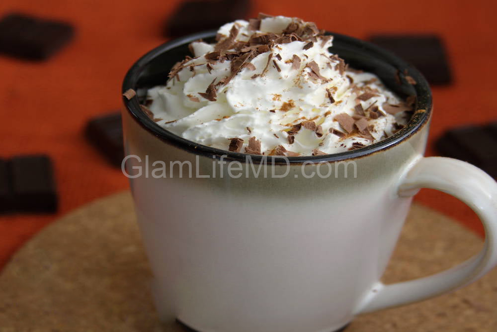 Pumpkin Chocolate Latte | Homemade Drinks