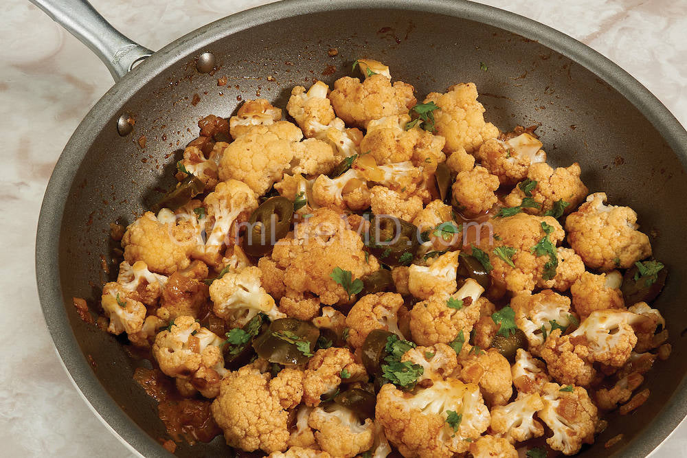 Sautéed Chipotle Cauliflower | Vegetable Side Dish Recipes
