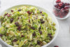 Shaved Brussels Sprout Salad with Cranberries