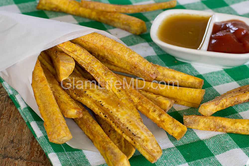 Smoky BBQ Plantain Fries | Appetizers Appetizer Recipes