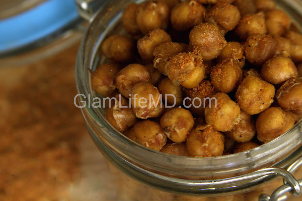 Smoky Cajun Chickpeas | Holiday Appetizers Recipes