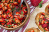 Strawberry Bruschetta | Bruschetta Recipe Appetizers