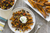 Sweet Potato Nacho Fries | Appetizers Recipes Healthy