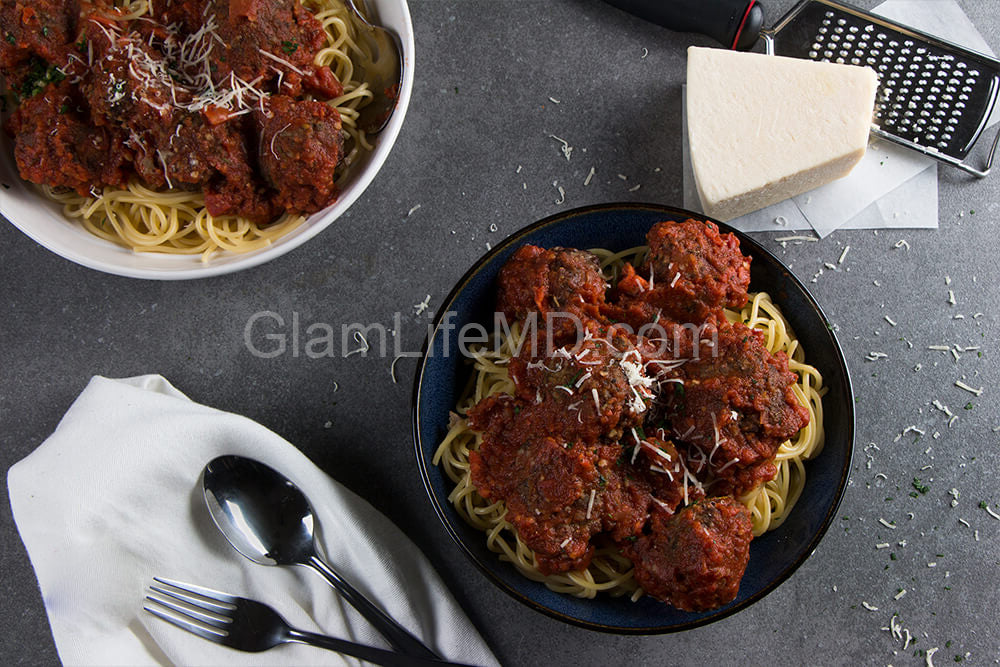 Tuscan Spaghetti & Meatballs | Recipes Healthy Lunch
