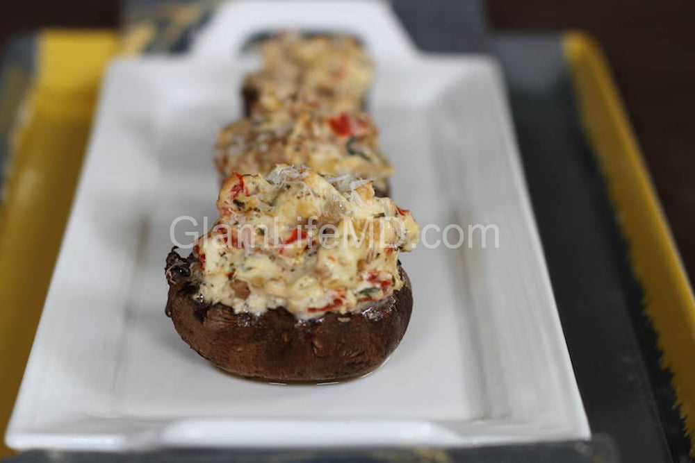 Tuscany Sausage Stuffed Mushrooms | Hordevours Recipes Appetizers