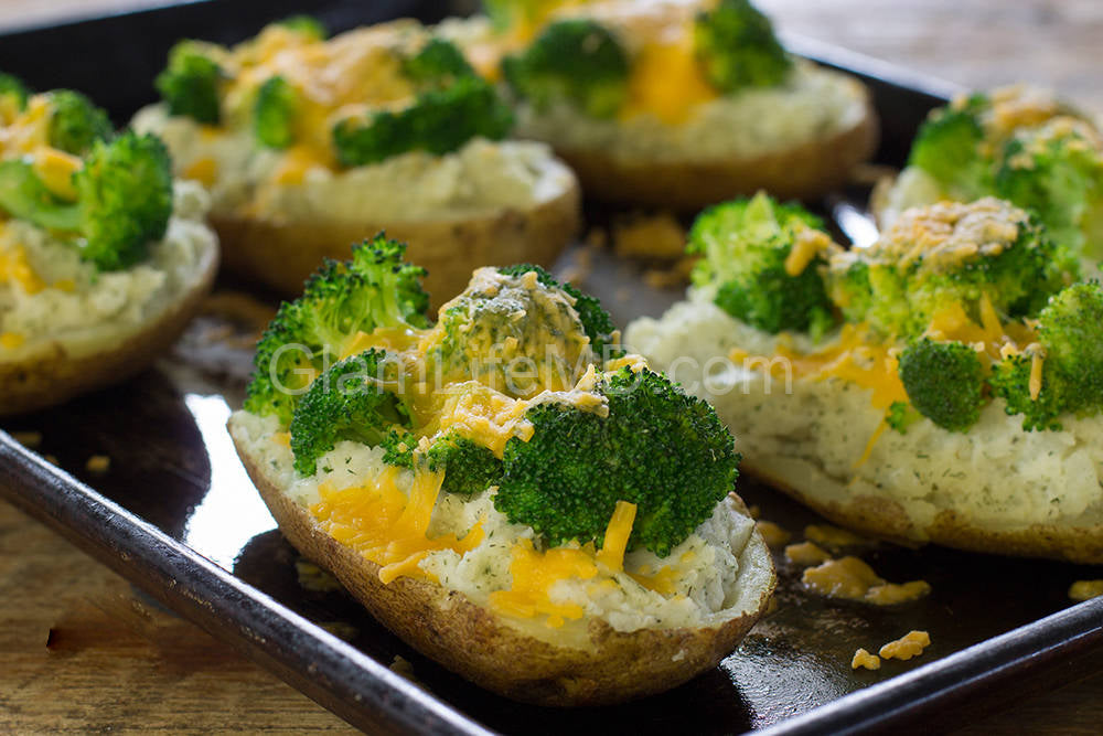 Twice Baked Potatoes | Vegetable Side Dish Recipes