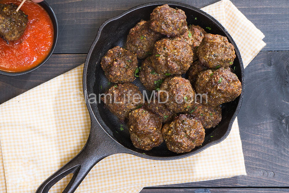 Gluten Free Meatballs | Recipes Appetizers Party