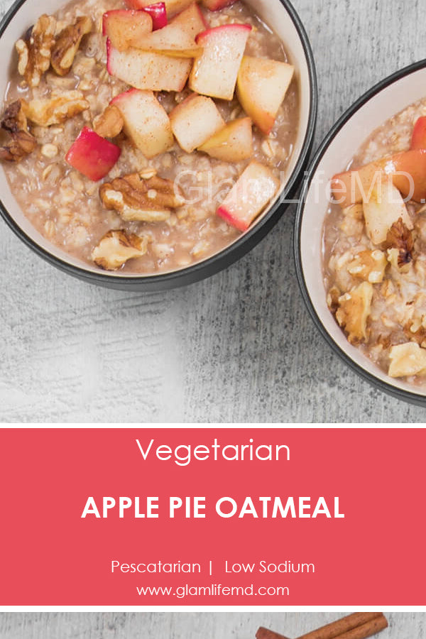 Apple Pie Oatmeal | Recipes Using Oatmeal
