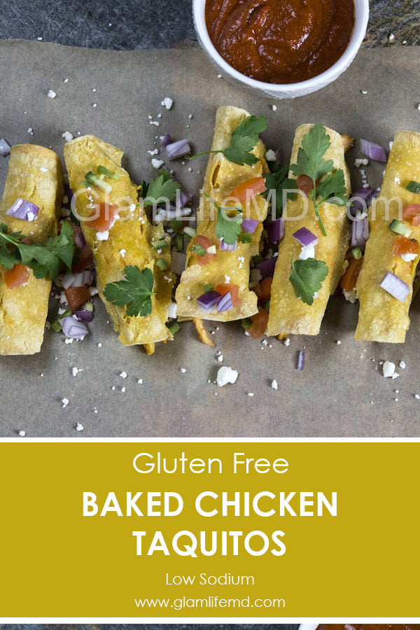 Healthy Yummies Of Baked Chicken Taquitos | Food Recipes Appetizers Party