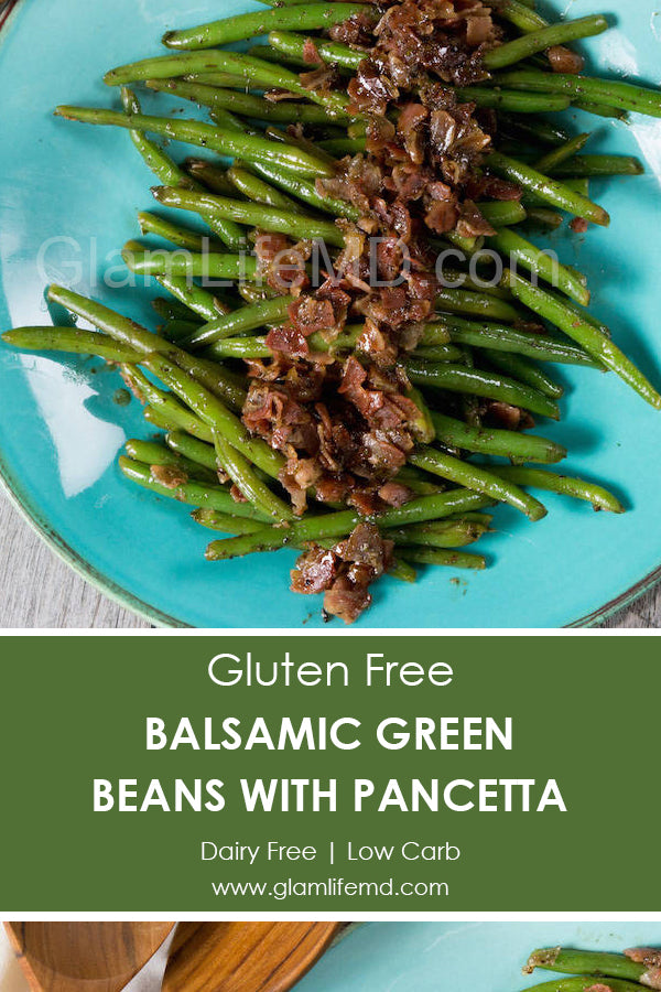Balsamic Green Beans with Pancetta | Recipes For Sides Dishes