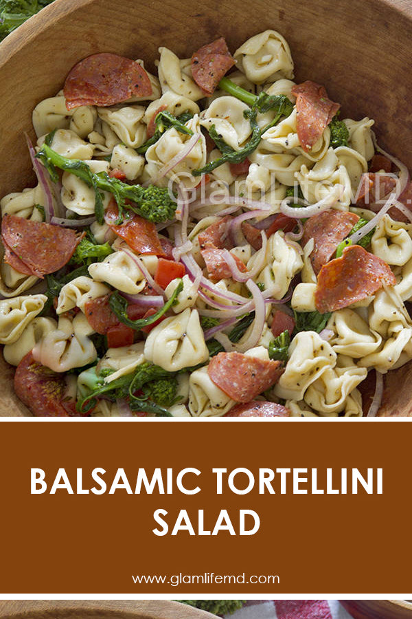 Balsamic Tortellini Salad | Tortellini Salad Recipes