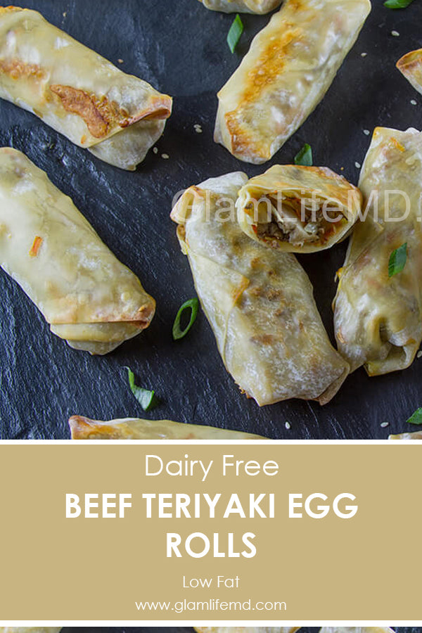 Beef Teriyaki Egg Rolls | Beef Dinner Recipes