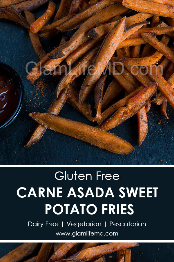 Carne Asada Sweet Potato Fries | Easy Recipes For Snack