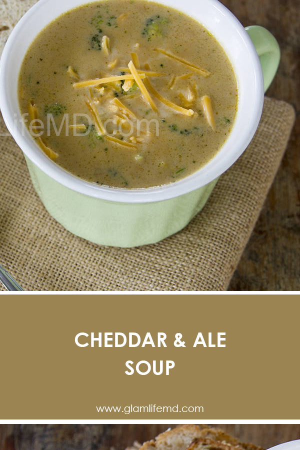 Cheddar Ale Soup | Delicious Lunch Recipes