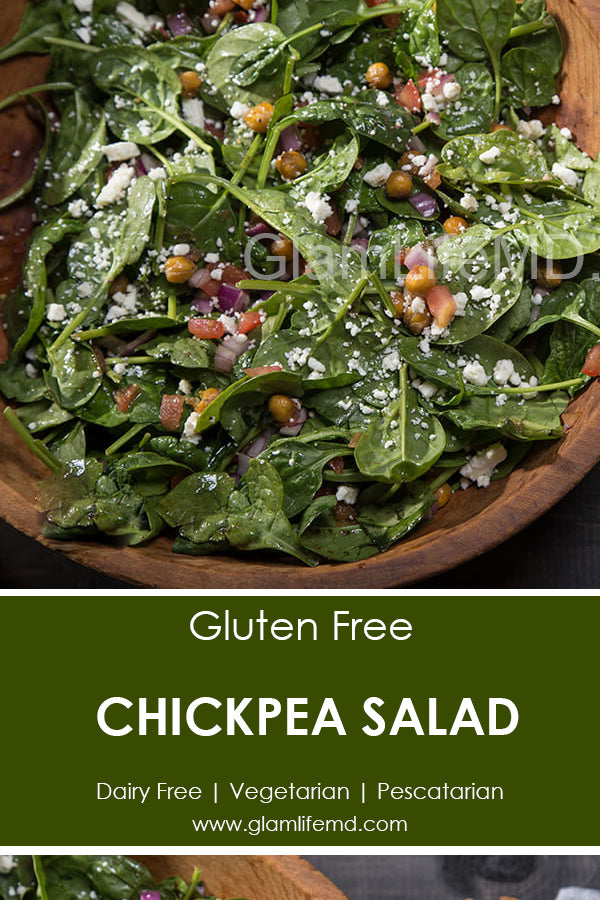 Chickpea Salad | Vegetarian Salad Recipes