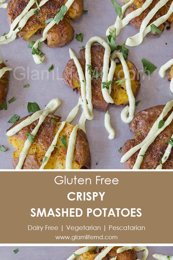 Crispy Smashed Potatoes | Vegetable Side Dish Recipes