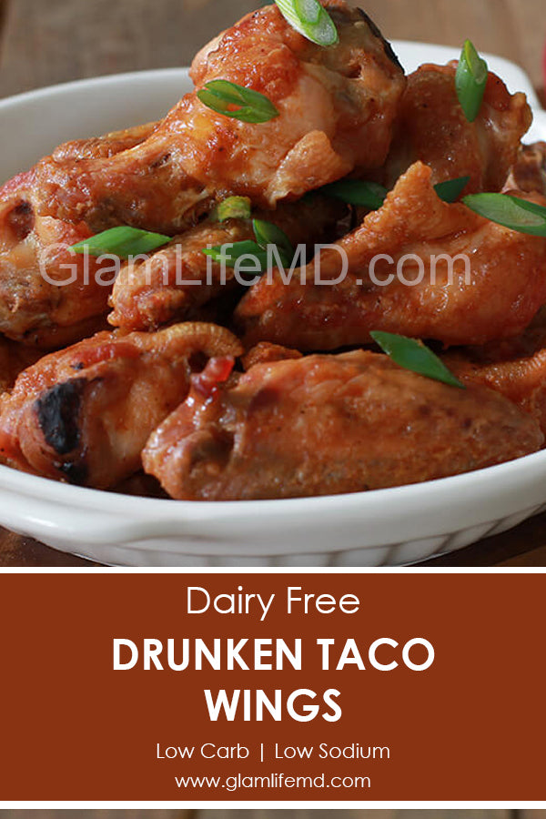 Drunken Taco Wings | Party Appetizers Recipes