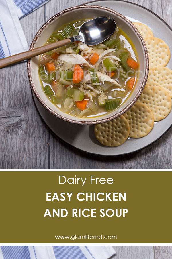 Easy Chicken and Rice Soup | Lunch And Dinner Recipes