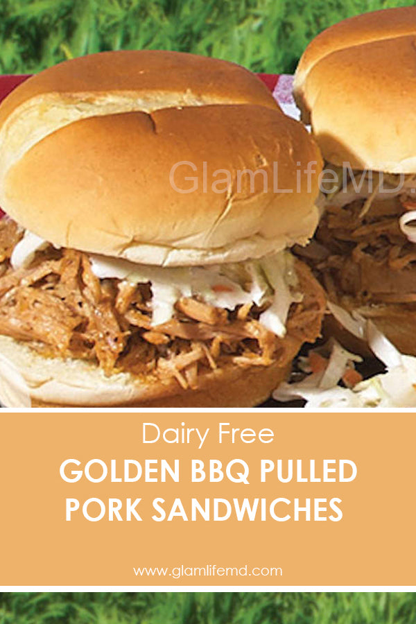 Golden BBQ Pulled Pork Sandwiches | Yummy Lunch Recipes