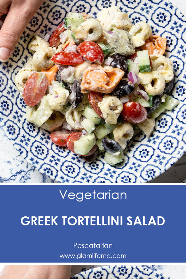 Greek Tortellini Salad | Recipes For Sides Dishes