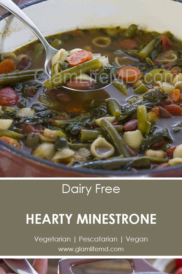 Hearty Minestrone | Easy Healthy Lunch Recipes