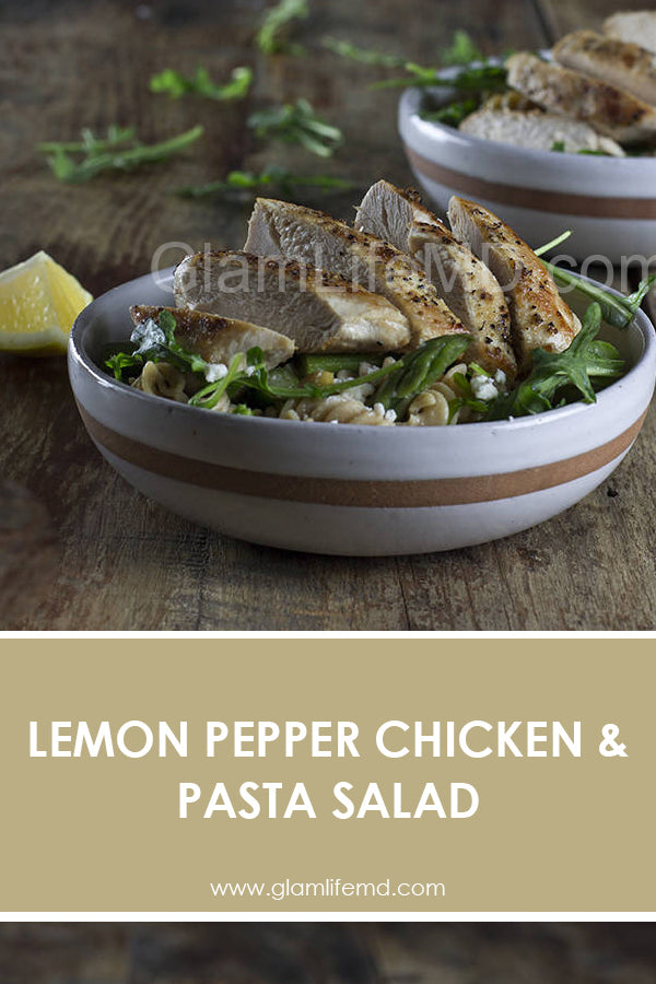 Lemon Pepper Chicken & Pasta Salad | Yummy Lunch Recipes