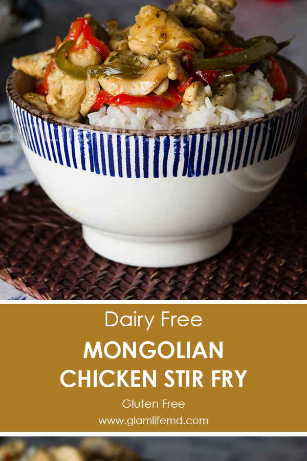 Mongolian Chicken Stir Fry | Healthy Easy Lunch Recipes