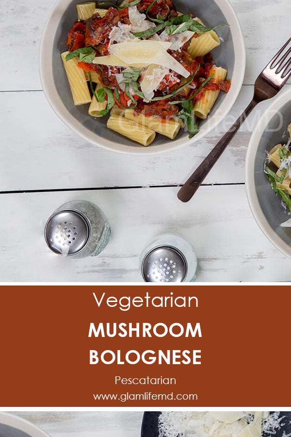Mushroom Bolognese | Delicious Dinner Recipes