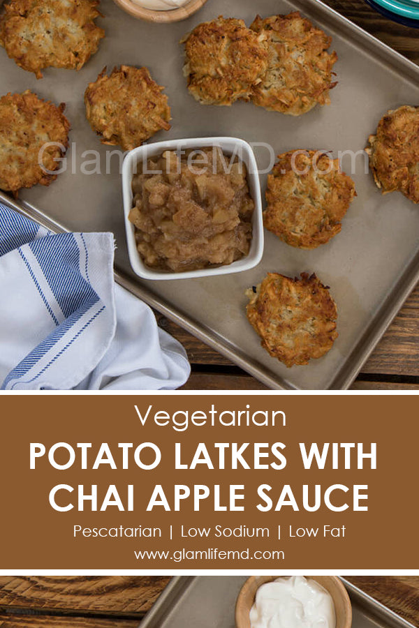Potato Latkes With Chai Applesauce | Food Recipes Snacks