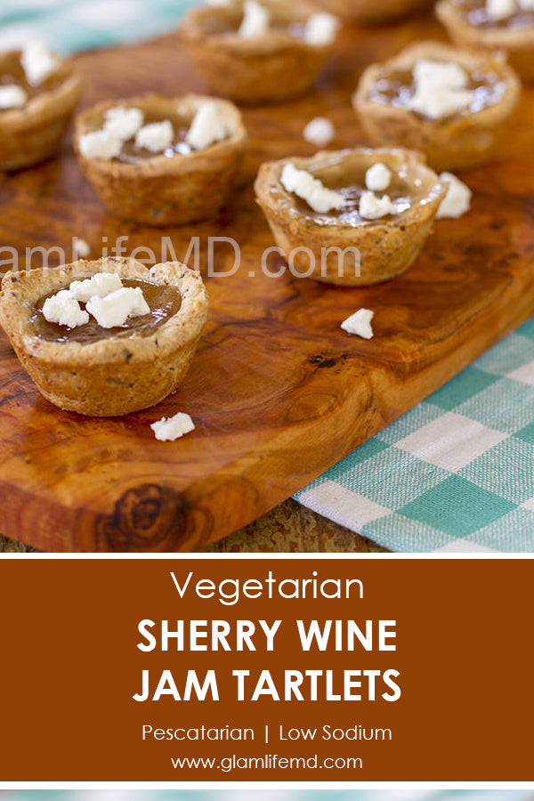 Sherry Wine Jam Tartlets | Appetizers Appetizer Recipes