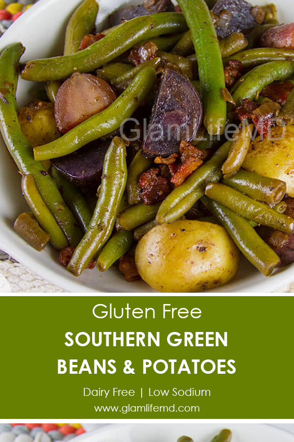 Southern Green Beans & Potatoes | Potatoes Recipes In Oven Side Dishes