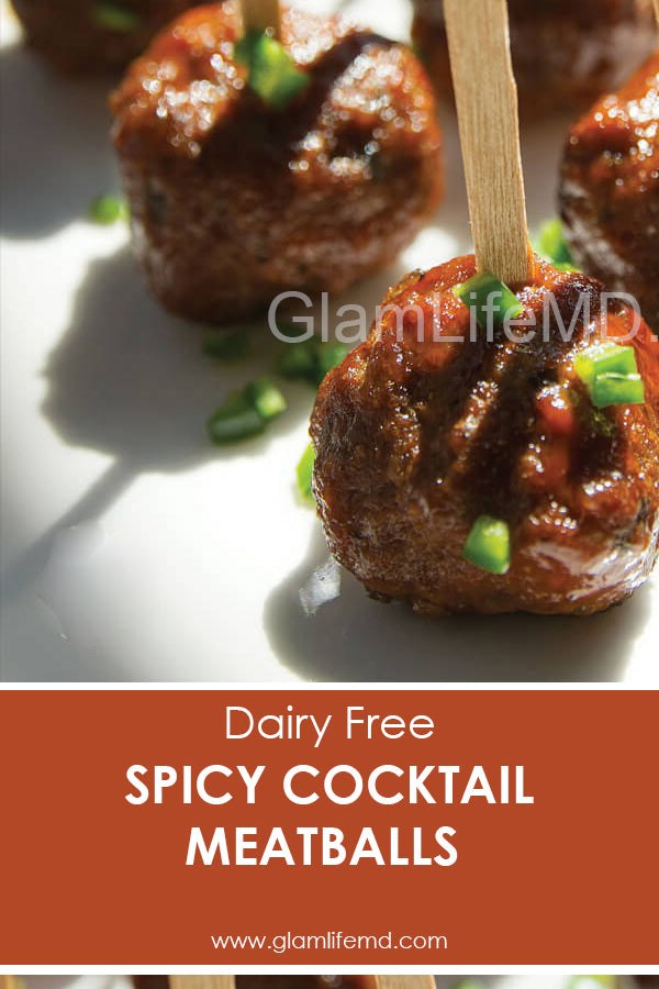Spicy Cocktail Meatballs | Hordevours Recipes Appetizers