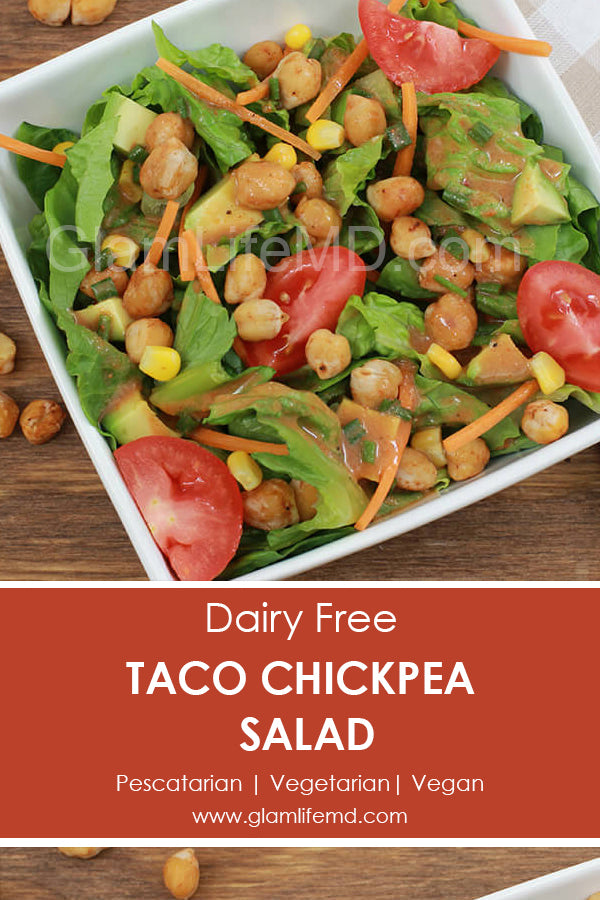 Taco Chickpea Salad | Taco Salad Recipe