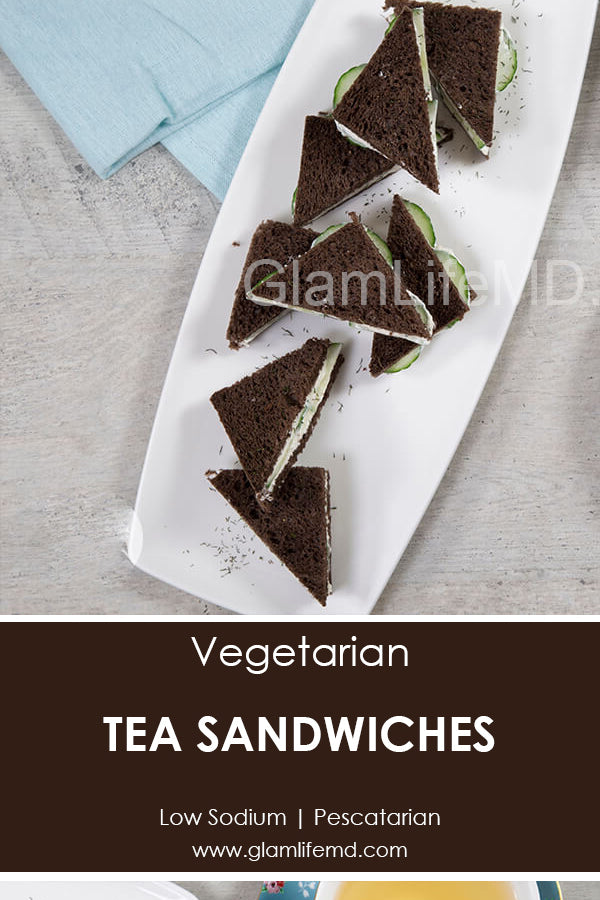 Tea Sandwiches | Appetizers Recipes | GlamlifeMD