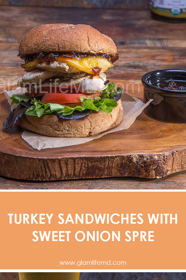 Turkey Sandwiches with Sweet Onion Spread | Lunch Sandwich Recipes